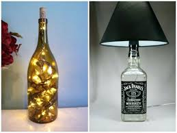 diy bottle lamp bottle lamp make a table lamp with recycled bottles pendant lighting table lamps diy