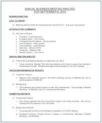 Minutes Sample Format Minutes Writing Template Meeting Format Pdf Free Download