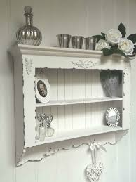 shabby chic wall unit shelf storage