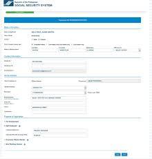Sss Number Online Application