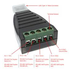 usb to rs485 rs422 converter ftdi chip terminals