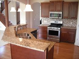 Yellow And Brown Kitchen Furniture Kitchen Design With Soft Brown Kitchen Cabbinet Also