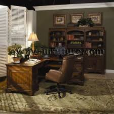 home office world. old world lshaped home office computer desk and return s