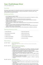 Relief Teacher Cover Letter Chechucontreras Com