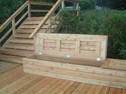porch storage bench. Exellent Bench I Would Love To Build Some Storage Benches Similar This Style For Our  Deck Simple Construction And  For Porch Storage Bench D