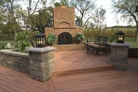 Backyard Decking Designs Mesmerizing Terrace And Garden Designs Classic Wooden Backyard Decking Ideas