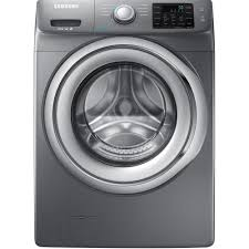 Front Load Washer Dimensions Samsung 42 Cu Ft Front Load Washer With Steam In Platinum