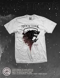 House Stark T Shirt Design House Stark Shirt By Gapnod Deviantart Com