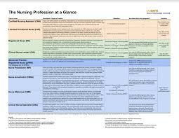 nursing health professions advising nursing profession at a glance