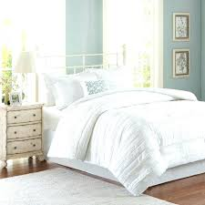 white ruffle duvets edge duvet cover super king comforter purple set queen ruffle quilt cover