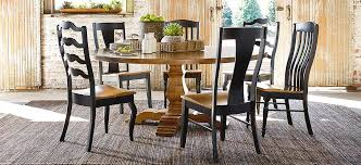 round dining room set. Bench*Made Maple 72\ Round Dining Room Set