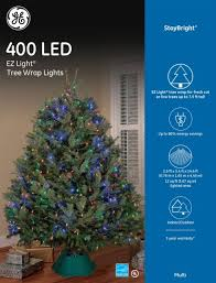 new ge 400 led stay bright tree wrap lights ez multi energy saving