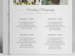 Photography Pricing Template Wedding Photographer Pricing Guide Psd Template V3 On Behance