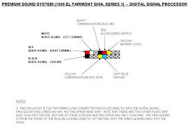 ford falcon el wiring diagram ford image wiring tutorial add auxiliary input to el s premium sound system on ford falcon el wiring