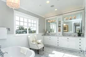 white marble master bathrooms bubble chandelier in drum and vanity lighting in white marble master bathroom