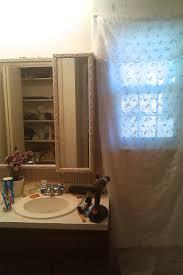 Brown Painted Bathrooms Before After My Pretty Painted Bathroom Vanity