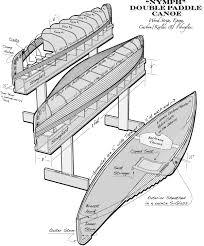 wooden canoe building plans