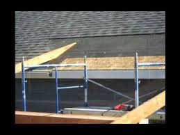 construction of a roof addition over an