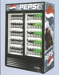 Double Door Drinks Fridge Best Vending Machines Pop Coolers For The Office  Lunchroom 2017