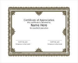 Microsoft Word Certificate Templates 100 Word Certificate Templates Free Download Free Premium Templates 5