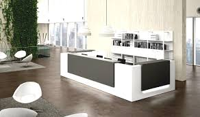 modern office lounge furniture. Modern Furniture : Office Lounge Large Linoleum Wall Mirrors Lamp Shades Gray Fine Mod