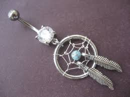 Dream Catcher Belly Button Rings Belly Button Ring Jewelry Turquoise Dream Catcher Belly 10