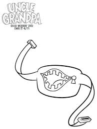 Small Picture Uncle grandpa coloring pages Free Printable Uncle grandpa