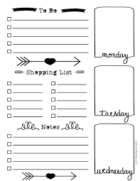 Bullet Journal Template Pdf Free Bullet Journal Printables Customize Online For Any Planner Size