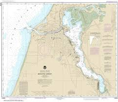 14938 Manistee Harbor And Manistee Lake Nautical Chart