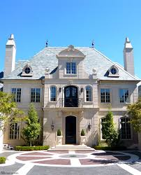 French Mansions Designs Classic French Chateau Style Exterior Dream Home Facade