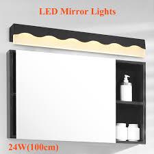 makeup lights lighting fixtures. new modern 24w 100cm led mirror lights makeup dressing room light fixtures lamp bathroom decoration lighting 1