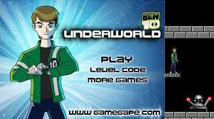 games of ben 10 adventure the