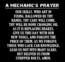 Mechanic Quotes Amazing A Mechanic's Prayer JokesQuotesPoems Pinterest Door Quotes