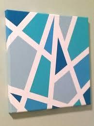 Masking Tape Painting 25 Best Masking Tape Art Ideas On Pinterest Easy  Canvas Art