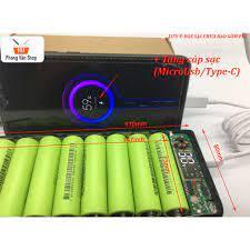 Box sạc dự phòng 8 cell 20000mah - pin 18650 - lipo | Nông Trại Vui Vẻ -  Shop