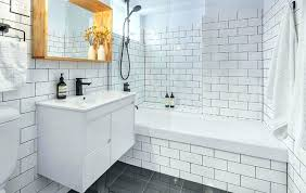gray subway tile shower shower subway tiles subway tile in bathrooms subway tile in shower niche beveled subway tile in shower subway tiles