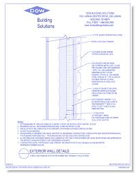 metal framing details. CAD Drawings Dow Building Solutions Steel Stud Framing With Stone Veneer And THERMAX™ Wall System Metal Details
