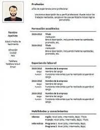 Curriculum Word Curriculum Vitae Formato Word Resume Templates Design For Job