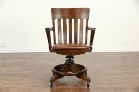 oak swivel adjule antique desk chair with arms leather seat repair chr9 11 breathtaking pictures hd