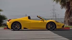 Fuel consumption is estimated to be around 13.3 l/100 km. 2015 Ferrari 458 Speciale Aperta S126 Monterey 2017