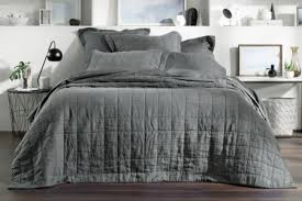 quilted bed covers.  Bed Abbotson Linen Bed Cover With Quilted Bed Covers