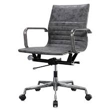 office chair vintage. M348 Distressed Office Chair Vintage Grey