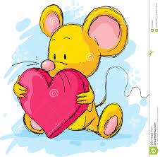 cute pillow clipart. royalty-free vector. download cute mouse with heart pillow clipart i