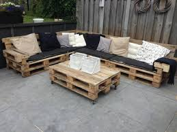 outdoor furniture from pallets. Garden Furniture Pallets Outdoor Set Diy From A