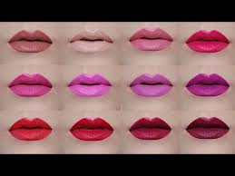 Avon True Color Perfectly Matte Lipsticks Lip Swatches