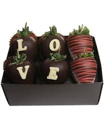 love chocolate covered strawberry box next day flower delivery