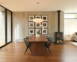 flooring for dining room. minimalist dark wood floor great room photo in minneapolis with a stove flooring for dining d