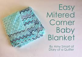 Baby Blanket tutorial with Cuddle Fabric - Diary of a Quilter - a ... & Baby Blanket tutorial with Cuddle Fabric Adamdwight.com