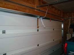 garage door opener installation look inside