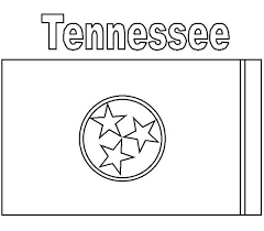 Small Picture Tennessee State Flag Coloring Page Color Luna